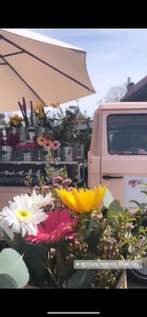 Cue the flower truck obsession.
